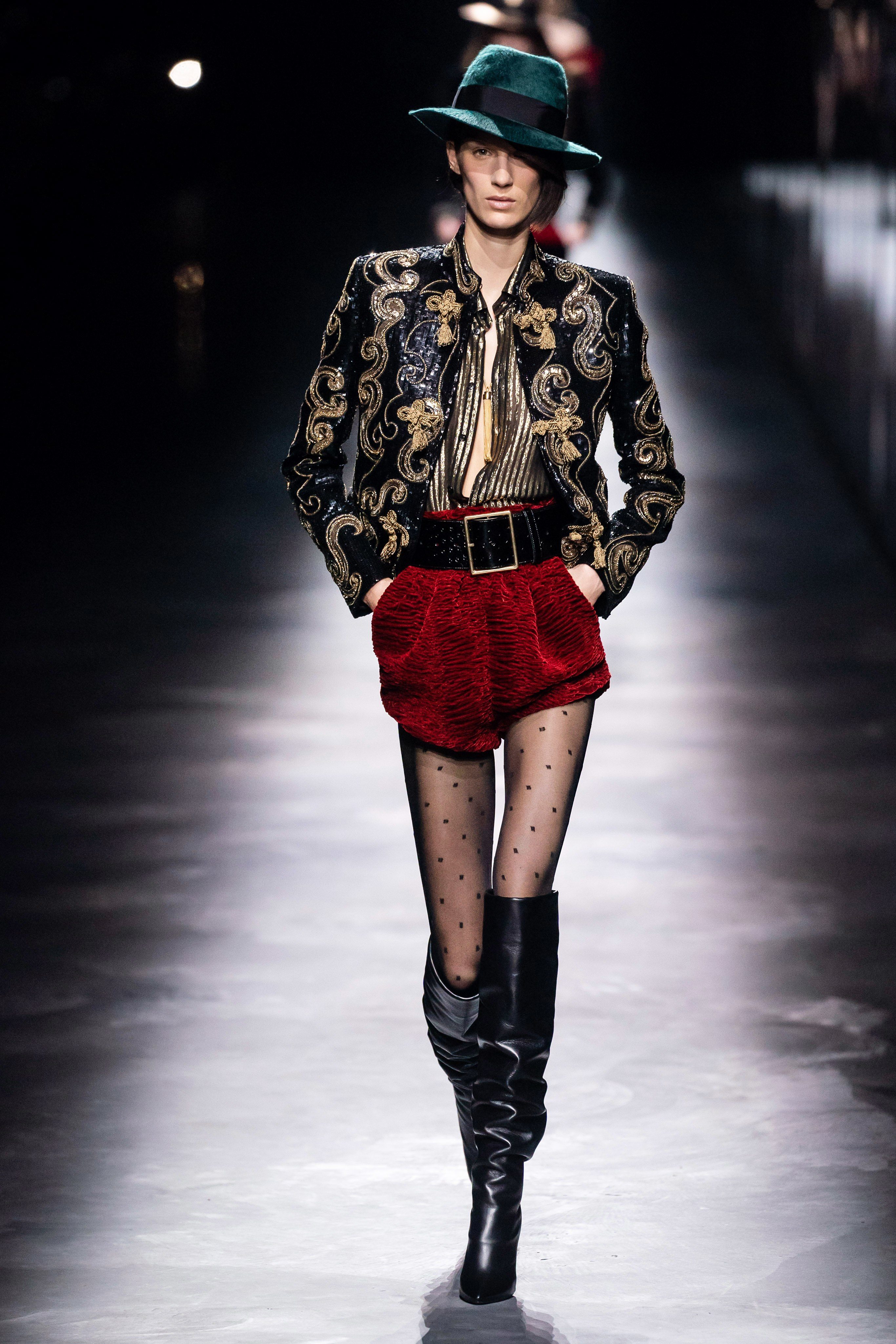 Marte for Saint Laurent FW1
