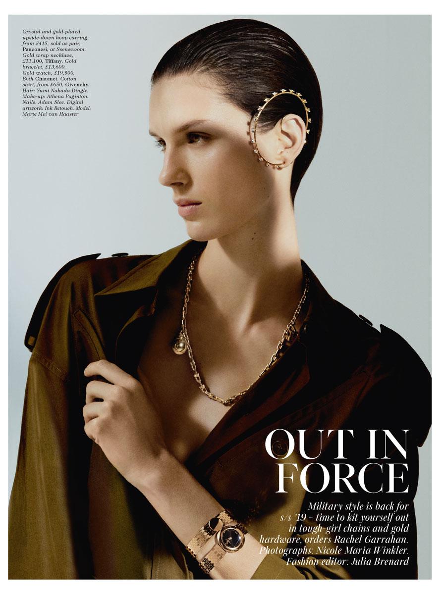 Marte for Vogue UK – Paparazzi model management